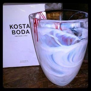 Kosta Boda Contrast Vase